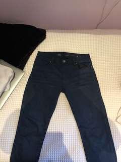 Dark blue Rider skinny jeans size 12