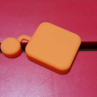 Brand New Silicone Lens Cover for Gopro Hero 3/4 Standard housing - Orange
