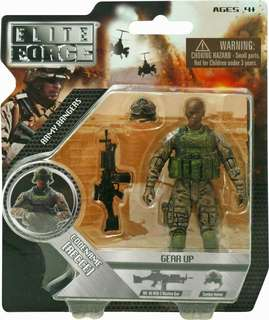 "BBI Elite Force ""Reece"" 4 inch Action Figure 1:18 scale"