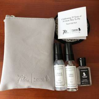 Singapore Airlines 70 Years Travel Gift Pack by The Laundress