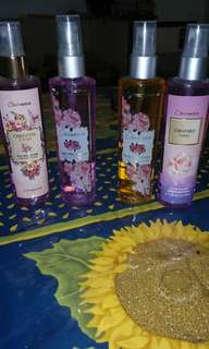 Body mist cologne