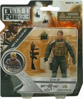 "BBI Elite Force ""Shooter"" 4 inch Action Figure 1:18 scale"