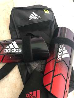 Adidas Ghost Reflex Shin and Ankle protection