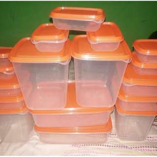 Tupperware Pruta IKEA isi 17pcs