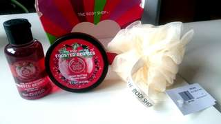 Bodyshop Frosted Berries Gift Set