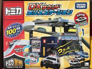 Takara Tomy DX police station used in good condition
