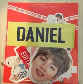LAP KangDaniel貼紙set