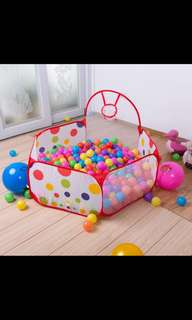 Foldable ball pit with 300balls