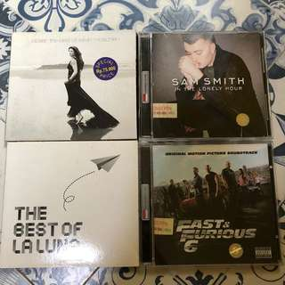 PAKET A ISI 4 CD LAGU ORIGINAL