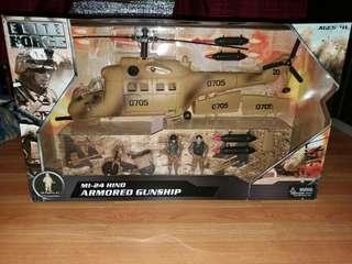 BBI Elite Force MI-24 HIND Armores Gunship compatible with GI Joe
