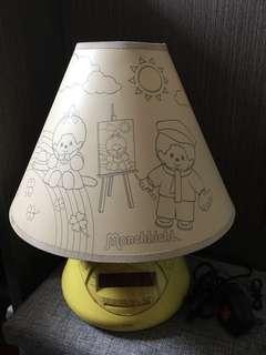 Monchhichi 收音機枱燈
