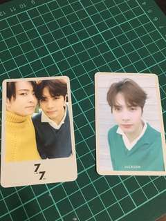 WTT/WTS GOT7 7for7 Present edition photocards