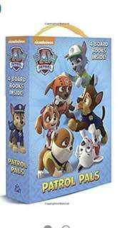 Paw patrol book set