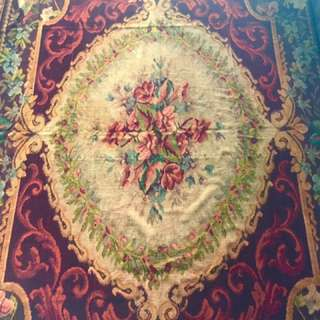 Antique Irish Carpet (Peranakan)