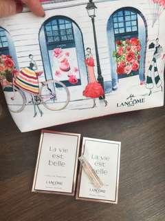 Gift with Purchase - New Lancôme makeup bag