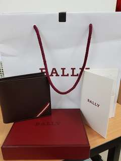 Bally Leather Mens Wallet