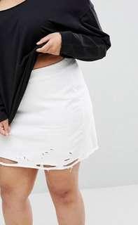 Nibbled Skirt UK 24 Plus Size