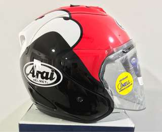 Arai Ram4 Kenny Red
