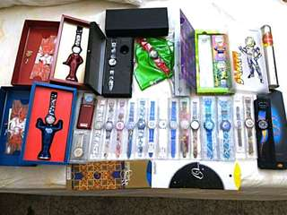 Swatch special editions, box sets, vintage, collectible