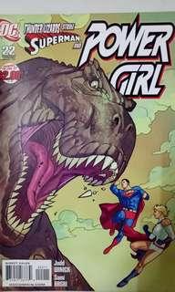 DC COMICS POWER GIRL #22