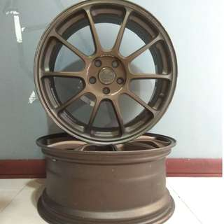 Sport rim. Original Rim Rays Volk Racing ZE40 19x8.5 +44 5x112 Bronze - Forged Rim - Original Item - Rare Item - Volkwagen and Mercedes... - Made in JAPAN