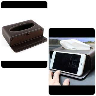 Car Tissue Box/ Phone Stand