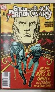 DC COMICS GREEN ARROW AND BLACK CANARY #8