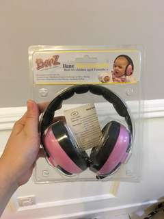 Baby ear protection headphone