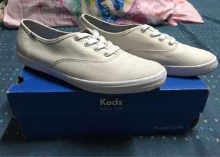 Original Keds Champion White Canvass Size 8