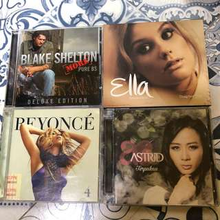 PAKET B CD LAGU ORIGINAL