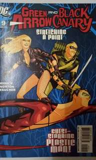 DC COMICS GREEN ARROW AND BLACK CANARY #9