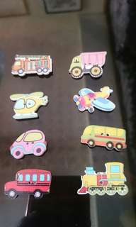 Vehicles Magnets