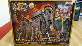 4D Masters Castle Deluxe Playset