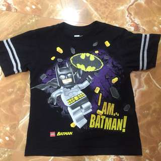 The LEGO Batman T shirt