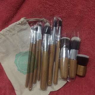 11pcs. Bamboo Brush Set