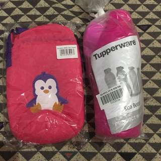 Tupperware Eco Bottle with Carrier