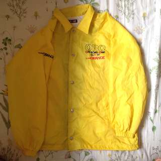 Yellow Windbreaker