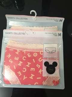 Uniqlo Disney Underwear