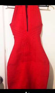 Red Bandage Dress (Herve Ledger Inspired)