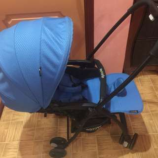 Folding Lightweight Baby Stroller with Reversible Handle