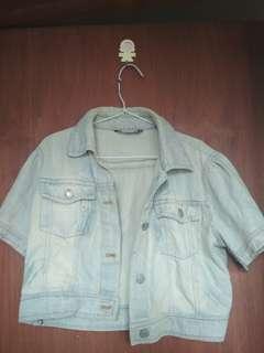 Jaket Jeans Oversize