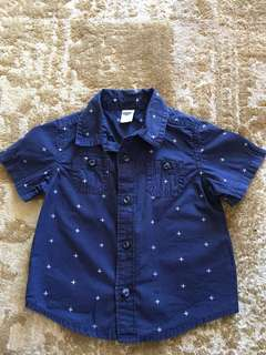 OLD NAVY Polo 6 - 12 m