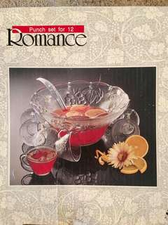 Romance punch set for 12