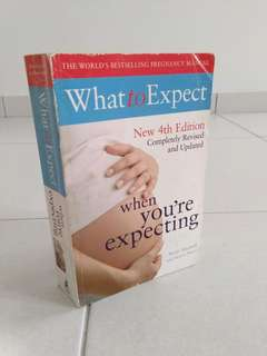 "Pregnancy Book (Title: ""What to expect when you're expecting"")"