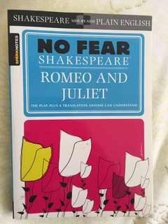 No Fear Shakespeare - Romeo and Juliet