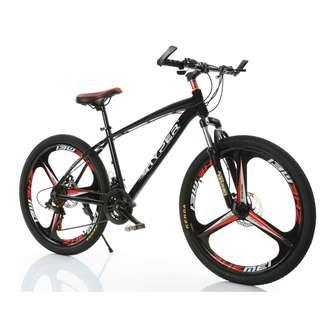 PROMO-FREE Delivery -Brand new 26'' Mountain Bike, with Aluminium alloy frame , 3 Spoke wheels , 21 speed Shifter, Both Quick Release wheels, Disc brakes