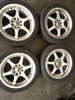 second hand 16 inch sport rims n tyre