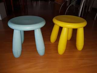 2 Ikea Stools. 1 at $5 or take2 for $8