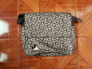 Mickey mouse messenger/body bag