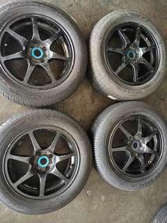 15 inch sport rim n tyre
